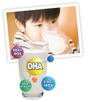 Child drinking Enfagrow
