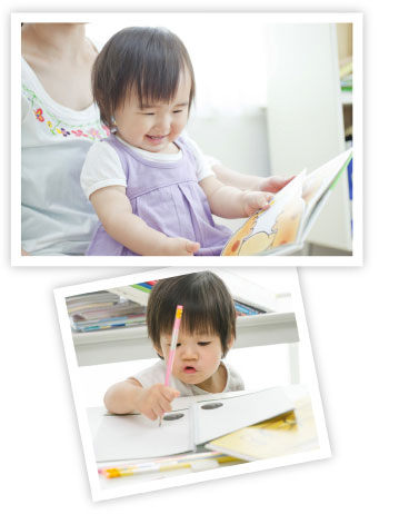 toddler learning through reading & writing